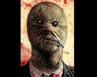 "Print 11x17"" - Dr. Decker - Nightbreed Clive Barker Dr Philip K Decker Aaron Boone Cabal Dark Art Horror Dark Art Fantasy Pop Art Lowbrow"