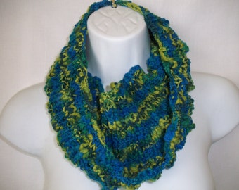 multi colors in knit cowl  --4071502