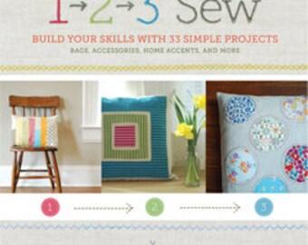 20% Off SALE! 1-2-3 Sew BOOK - Ellen Luckett Baker