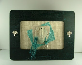Wise Woman in Turquoise