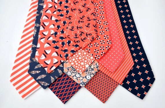 Brighten up that wardrobe with a Coral Tie. Find a Silk Coral Tie, Textured Coral or Patterned Coral Tie, at Macy's. Macy's Presents: The Edit- A curated mix of fashion and inspiration Check It Out. Free Shipping with $99 purchase + Free Store Pickup. Contiguous US. Michael Kors Men's Paisley Silk Tie.