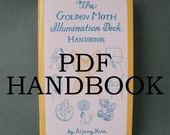 "PDF HANDBOOK ""The Golden Moth Illumination Deck Handbook"" // tarot book / tarot guide / tarot handbook / tarot companion / pagan"