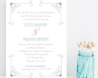 10 Whimsy Rehearsal Dinner Invitations