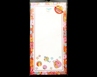 Japanese Envelopes Flowers And Traditional Toys And Bags Set of 12