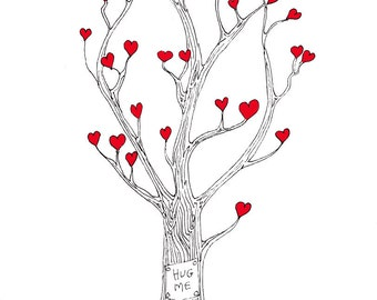 The tree that sprouted love - Print