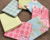 Fabric Destash no. 200 -- 7 (1/3)-(3/8) yard cuts
