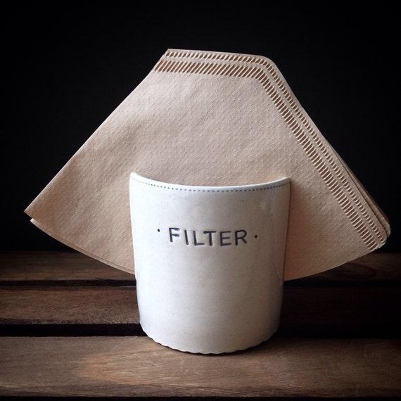 Espresso Filter Holder ~ Coffee filter holder by taniajulianceramics on etsy