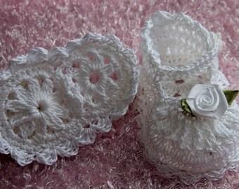 Cheryl's Crochet  CC78-Dainty Baby's First Mary Jane Pattern