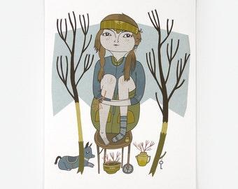 Thursday - Giclee Print