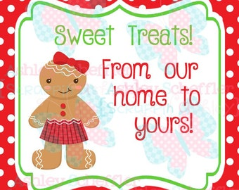 Gingerbread Baking Tags. Printable Tags. Cookie Exchange. Sweet Treats. Christmas. Christmas.Tag. Square Tag. Instant Download. PDF file.
