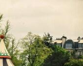 Flatterie - Paris Art Print, Paris Landscape Photography by Leigh Viner