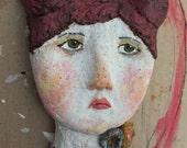 Shandie. Original Paper Clay Art Mask