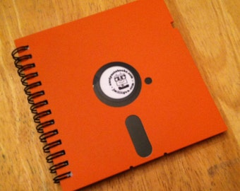 Orange! Floppy Disc Notebook v1.0