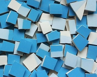 Mosaic Tiles--Horizon Blue-100 tiles- Sale