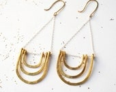 Golden Arch Earrings...