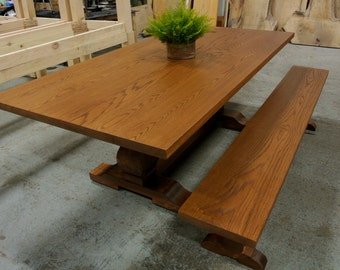 Custom French Trestle Table