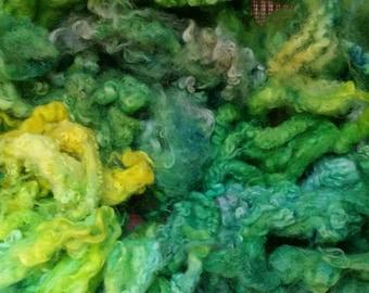 Fleece sale buy 3 get 1 free Tropic Thunder hand dyed locks curls 2 oz.