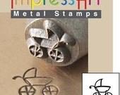 Baby Stroller 6mm Metal Design Stamp - ImpressArt