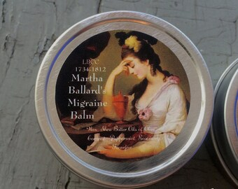 1735-1812 Martha Ballard's Migraine Balm