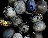 DSG Beads Handmade Organic Lampwork Glass - Made To Order (Black Cat)
