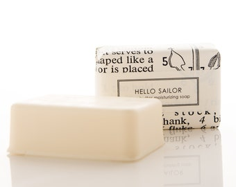 SALE - Shea Butter Soap for Men - Hello Sailor!