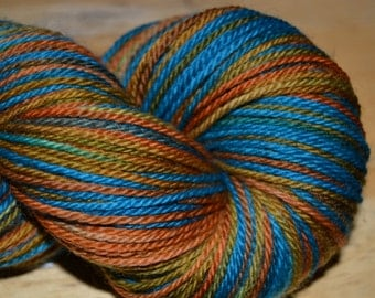 BFL Wool Washable 3ply  Desert Jewels 4oz