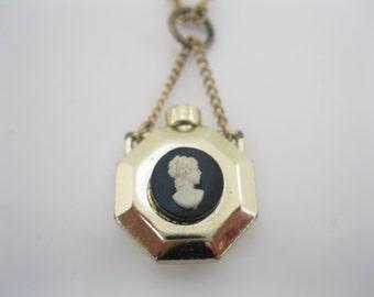 Vintage perfume bottle pendant
