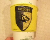 Reusable Cup Cozy - Harry Potter Hufflepuff House