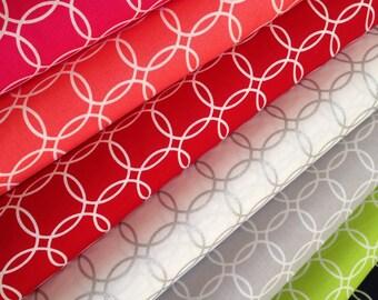 SALE fabric bundle,  Metro Living Bracelets by Robert Kaufman- Bundle of 7 Fabrics. You Choose The Cuts. Free Shipping Available