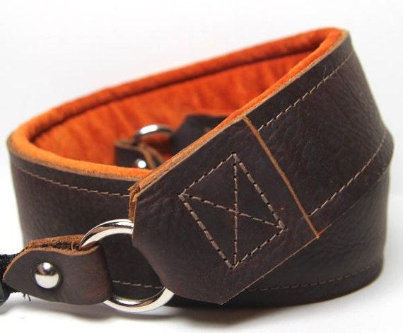 Custom Leather Camera Strap The Kodiak by PhatStraps on Etsy - photo#29