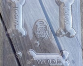 Woof Dog Bone Soap Mold