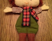 Sweet Little Vintage Fabric Doll by Hallmark