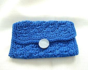 Blue Loyalty/Credit Card Holder