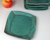 Turquoise Lunch Plate - Made to Order