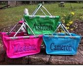 Easter Mini Market Basket - Monogrammed / Personalized
