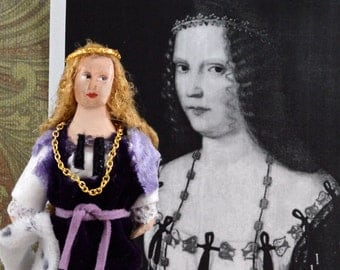 Lucretia Borge Historical Doll Miniature Renaissance Art