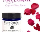 SALE - Rose Shea Butter - Gorgeously Scented Body Butter for Very Dry Skin - Real, Natural and Organic 4 oz