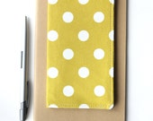 Cute Polka Dot Checkbook Case, Gift Idea for Her