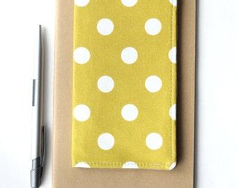 Cute Polka Dot Checkbook Case, Gift Idea for Her