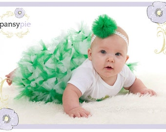 Baby Hair Accessories Tulle Puff Headband To Match Your Tutu...