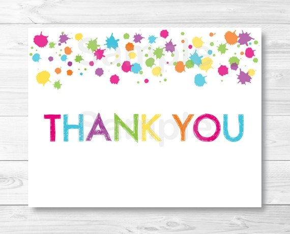 thank you cards template