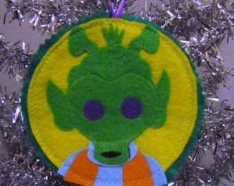 Greedo Star Wars Ornament, Wall Art, Patch, Accessory Christmas Tree stocking stuffer gift