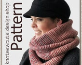 Ombre Infinity Scarf - Tunisian Crochet Pattern (PDF) - INSTANT DOWNLOAD