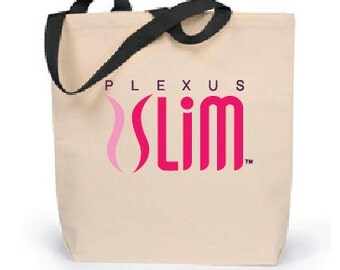 Plexus Slim Canvas Tote Bag