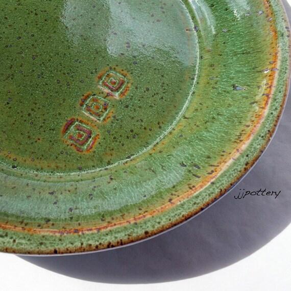 reserved for annika plate handmade ceramic dinner plates