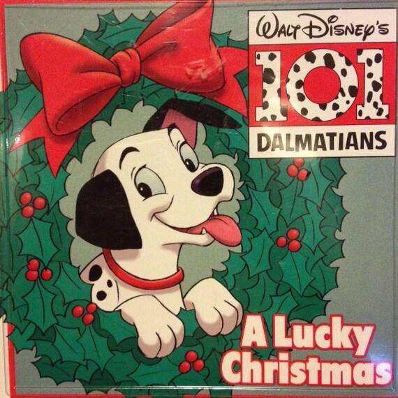 101 Dalmatians: A Lucky Christmas 1993 Read-Along w/Cassette