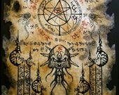 THE ELDER SIGN cthulhu larp Necronomicon Fragment occult magick