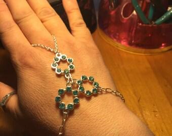 Crystal Blue Slave Bracelet