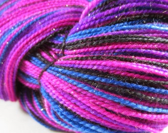 Freaky Fuschia Self-Striping SW Sock Yarn