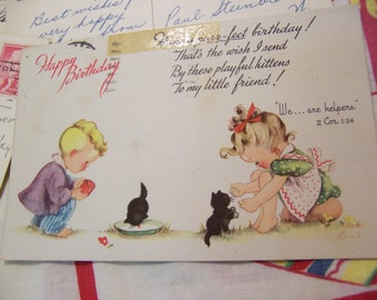 adorable 50s post cards